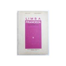 LIMBA FRANCEZA MANUAL PENTRU CLASA A VIII -A de MARCEL SARAS si VIORICA DEMETRESCU , 1966