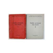 LIMBA GERMANA: CURS PRACTIC, VOL. I-II de JEAN LIVESCU ... BASILIUS ABAGER , 1972
