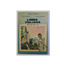LIMBA ITALIANA - MANUAL PENTRU CLASA A VII -A de VALENTINA NEGRITESCU si ILEANA TANASE - BOGDANET , 1994
