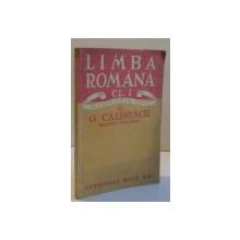 LIMBA ROMANA CL. I GIMNAZIU UNIC , 1947