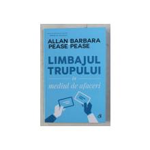 LIMBAJUL TRUPULUI IN MEDIUL DE AFACERI ED. a - II - a de ALLAN BARBARA PEASE , 2020