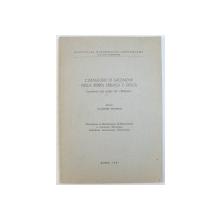 L'IMMAGINE DI SALOMONE NELLA BIBBIA EBRAICA E GRECA - CONTRIBUTO ALLO STUDIO DEL MIDRASH de VLADIMIR PETERCA, 1981