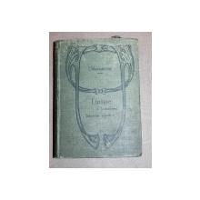LINISTE -TRUBADURUL- STAPANIA ODATA- DELAVRANCEA - BUC. 1911
