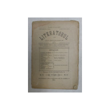 LITERATORUL , REVISTA , NO . 11 , 15 APRILIE , 1893