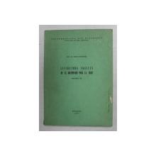 LITERATURA ENGLEZA DE LA INCEPUTURI PANA LA 1648 , VOLUMUL III de LEON LEVITCHI , 1977