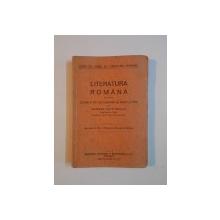 LITERATURA ROMANA PENTRU CLASA A VII-A SECUNDARA DE BAIETI SI FETE de GEORGE MARINESCU  1929