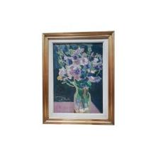 Liviu Teclu (1897-1970) - Vas cu flori