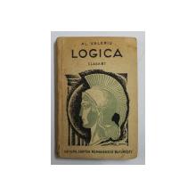 LOGICA , CLASA A - VIII - A de AL. VALERIU , 1946