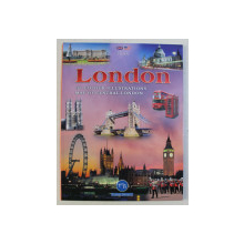 LONDON , 161 COLOUR ILLUSTRATIONS , MAP OF CENTRAL LONDON