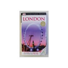 LONDON - EYEWITNESS TRAVEL by MICHAEL LEAFMAN , 1993