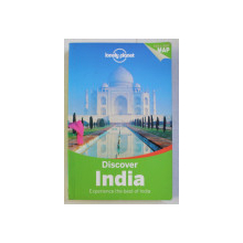 LONELY PLANET , DISCOVER INDIA , EXPERIENCE THE BEST OF INDIA , 2015