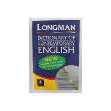 LONGMAN DICTIONARY OF CONTEMPORARY ENGLISH - 2001 , LIPSA CD *