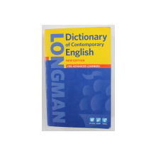 LONGMAN DICTIONARY OF CONTEMPORARY ENGLISH FOR ADVANCED LEARNERS - 2009, LIPSA DVD *