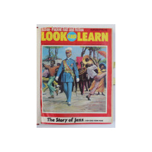 LOOK AND LEARN , REVISTA , COLEGAT DE 10  NUMERE APARUTE IN AUGUST  - NOIEMBRIE 197410