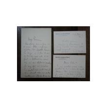 Lot 3 scrisoari semnate de Vasile G. Mortun, Bucuresti 1907