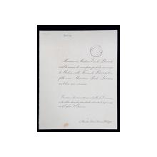 LOUIS ANQUETIN - PICTOR FRANCE 1861 - 932   - PORTRET DE FEMEIE  - MEDALION ,   SANGVINA PE HARTIE , CU SEMNATURA OLOGRAFA SI STAMPILA ATELIERULUI , 1917