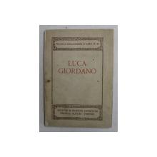 LUCA GIORDANO , PICCOLA COLLEZIONE D ' ARTE N. 40 , 1922