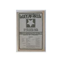 ' LUCEAFARUL '  - REVISTA PENTRU CULTURA , LITERATURA SI ARTA , ANUL X , NUMARUL 3 , 1 FEBRUARIE , 1911 ,
