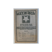 ' LUCEAFARUL '  - REVISTA PENTRU CULTURA , LITERATURA SI ARTA , ANUL X , NUMARUL 4 , 16 FEBRUARIE , 1911