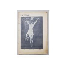 LUCEAFARUL ,REVISTE ILUSTRATA PENTRU LITERATURA SI ARTA , ANUL IX , NR. 9 , 1 MAI 1910