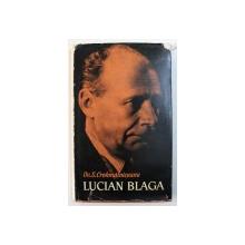 LUCIAN BLAGA de OV . S . CROHMALNICEANU , 1963 , DEDICATIE*