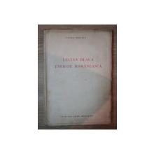 LUCIAN BLAGA, ENERGIE ROMANEASCA de VASILE BANCILA, CONTINE DEDICATIA AUTORULUI  1938