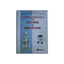 LUCRARI PRACTICE DE CHIMIE SI BIOCHIMIE de MARIA GREABU , ALEXANDRA TOTAN , FRAGA PAVELIU , TUDOR SPINU , 2003, CONTINE SUBLINIERI IN TEXT