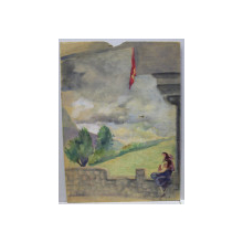 LUCRETIA MIHAIL SILION ( 1895 - ? ) PEISAJ