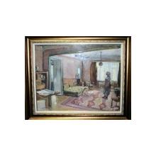 Lucretia Mihail Silion (n. 1895), Interior, verso Studiu nud