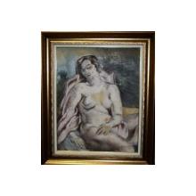 Lucretia Mihail Silion (n. 1895), Nud, verso Studiu