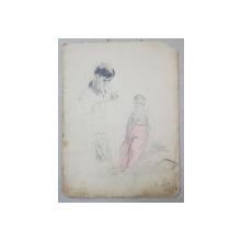 LUCRETIA  MIHAIL SILION , ' PUIU LA KARLSBAD '    , DESEN ,  1937