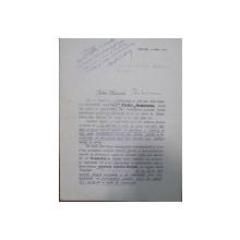 M G CANTACUZINO, STELIAN  POPESCU , C. XENI  DOCUMENT COMEMORATIV   TAKE IONESCU , 1925