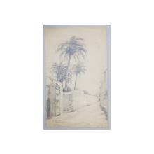 M. LEDDA , STRADUTA IN TRIPOLI , DESEN SEMNAT SI DATAT 1912