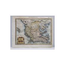 MACEDONIA EPIRUS et ACHSIS - HARTA, SEC. 18