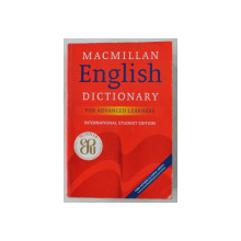 MACMILLAN ENGLISH DICTIONARY FOR ADVANCED LEARNERS , INTERNATIONAL STUDENT ED. , 2006