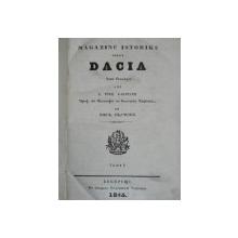 MAGAZINU ISTORICU PENTRU DACIA .VOL.I BUC. 1845