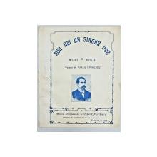 MAI AM UN SINGUR DOR de M. EMINESCU - PARTITURA MUZICALA