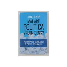 MAI ARE POLITICA VREUN SENS? de RADU CARP , 2018