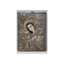 Maica Domnului cu Pruncul, Icoana cu ferecatura din argint, Sec. XIX