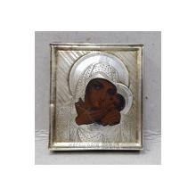 Maica Domnului cu Pruncul, Icoana de calatorie, Rusia sfarsit sec. XIX