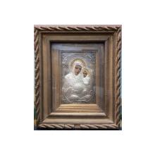 Maica Domnului cu Pruncul, Icoana Romaneasca cu Ferecatura din Argint, Perioada Interbelica