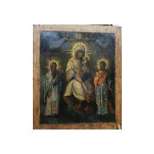 Maica Domnului cu Pruncul, Icoana Romaneasca, Secol 19