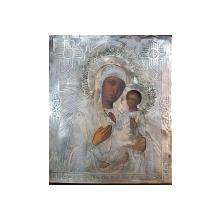 Maica Domnului cu Pruncul, Icoana Rusia cu ferecatura din argint
