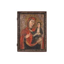 Maica Domnului cu Pruncul,  Scoală transilvăneană, a doua jumătate a sec. XVIII
