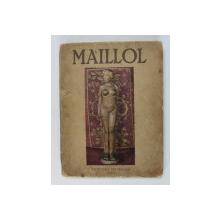MAILLOL par JOHN REWALD , 1939