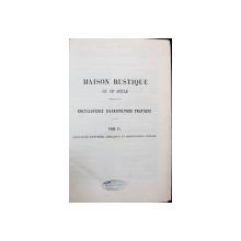 MAISON RUSTIQUE DU 19e SIECLE par MM. BAILLY, BIXIO et MALEPEYRE - PARIS