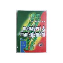 MANAGERI & MANAGEMENT de ION VERBONCU , 2000
