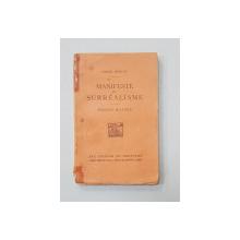 MANIFESTE DU SURREALISME par ANDRE BRETON - PARIS, 1924