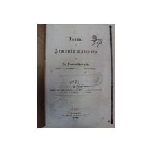 MANUAL DE ARMONIA  MUZICALA - IS. VOROBCHIEVICIU  CERNAUTI 1869