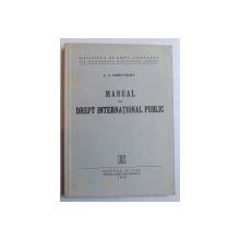 MANUAL DE DREPT INTERNATIONAL PUBLIC-F.I. COIEVNICOV